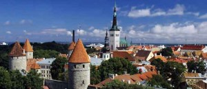 Tallinn - the capital city of Estonia