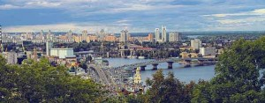 Kiev, the capital of Ukraine