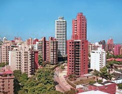 Barranquilla in Colombia